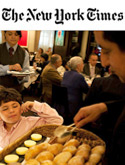 The New York Times:  Fine Dining Where Strollers Don't Invite Sneers